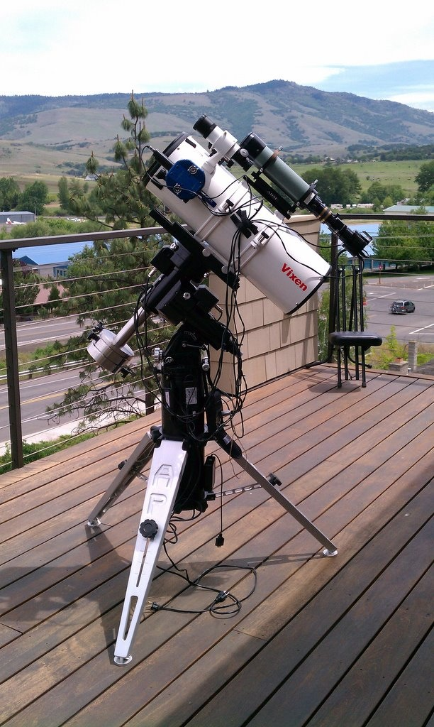 Newtonian 8 inch portable Astrophotography setup.