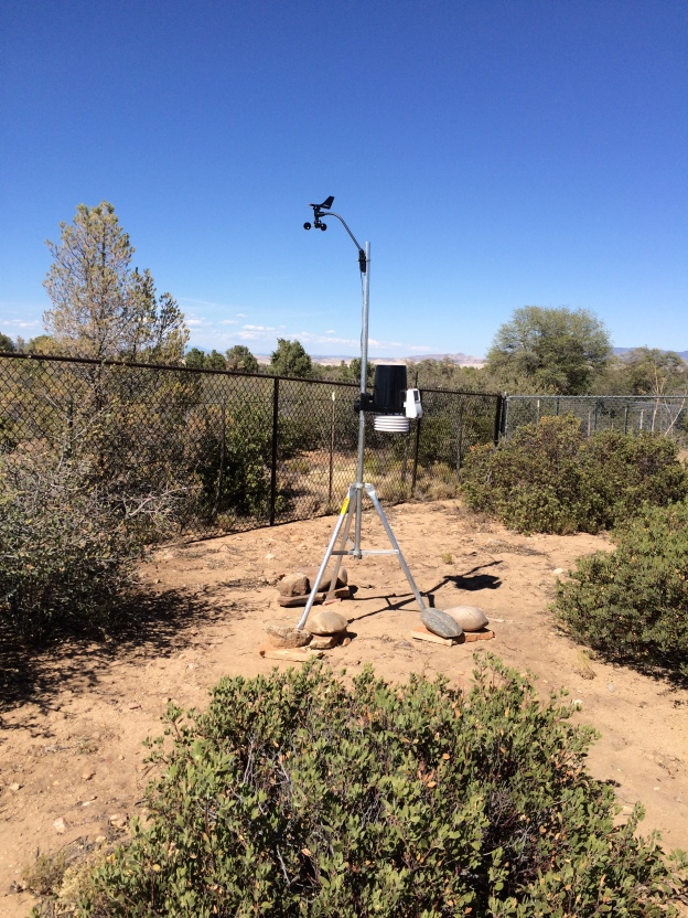New Davis Vantage Pro Weather Station