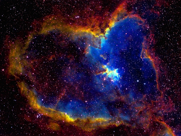 HeartNebulablueastrobinwater